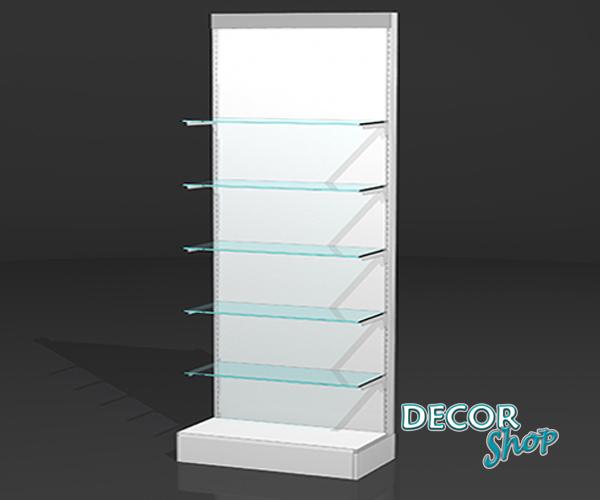 1 - Composição com prateleiras em vidro