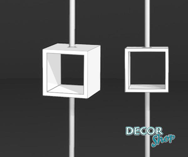 1 - Expositor quadrado