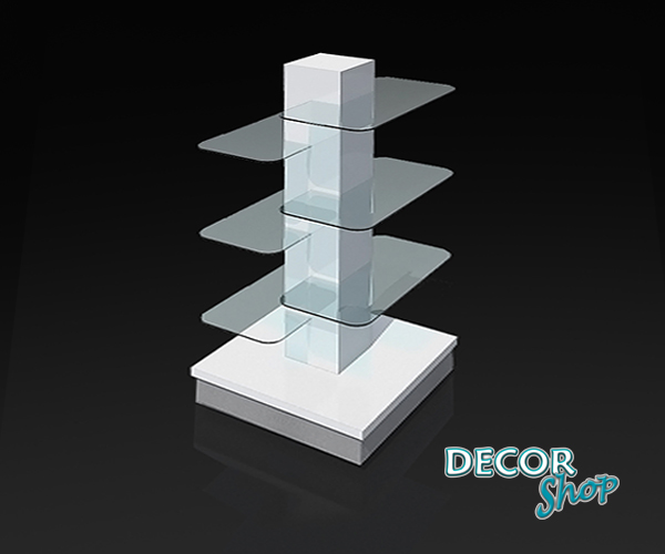 1 - Gôndola torre com prateleira