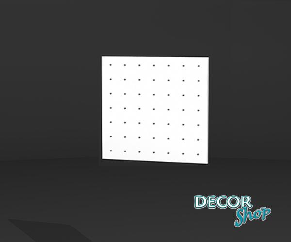 1 - Painel quadrado com Micro Botão
