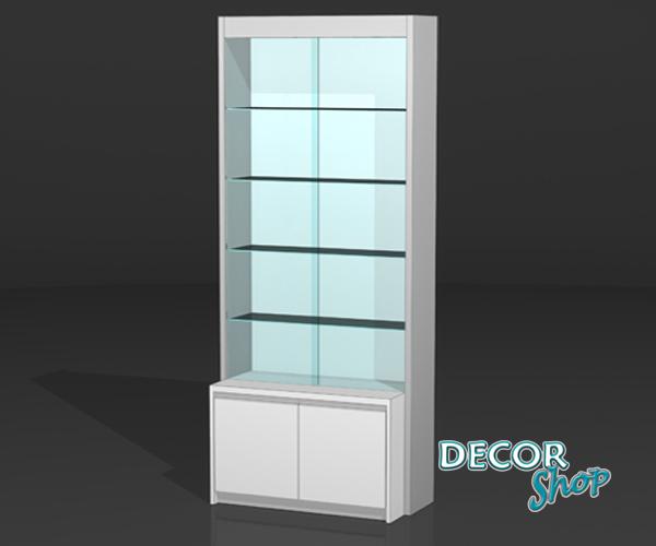 11 - Módulo vitrine + armário