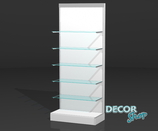 2 - Módulo com 5 prateleiras de vidro