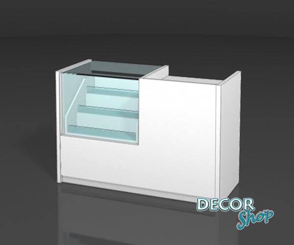 3 - Balcão compacto - caixa + exposição 40 Cm + sup