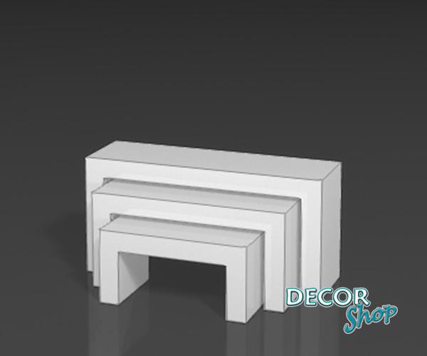 3 - Mesas baixas lacadas