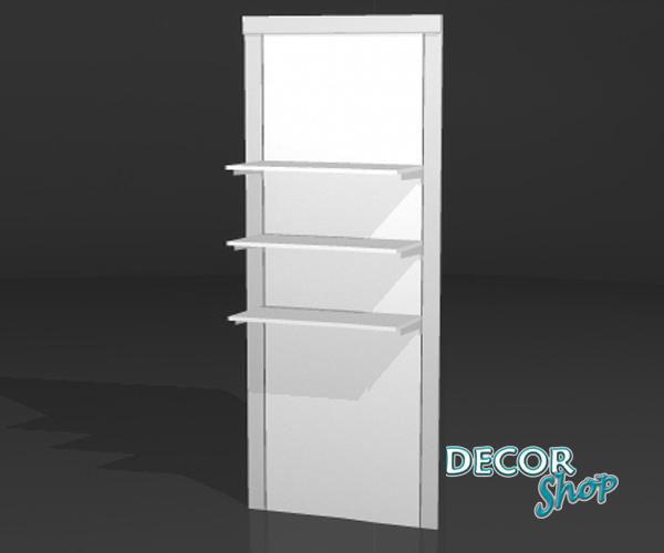 4 - Painel modular com 3 Prateleiras