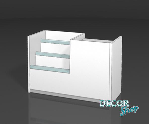 5 - Balcão compacto - caixa + exposição de pastilhas