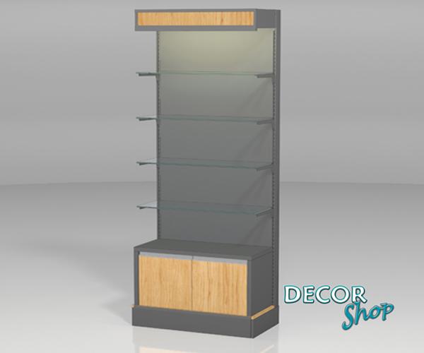 5 - Módulo 4 pts vidro + armário