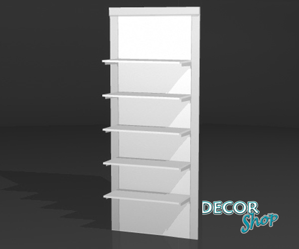 6 - Painel modular com 5 Prateleiras