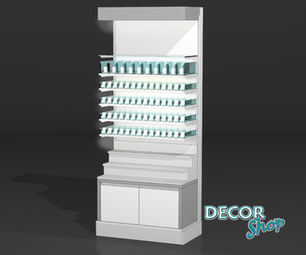 8 - Modulo c5 Pts de tabaco + degraus + armário